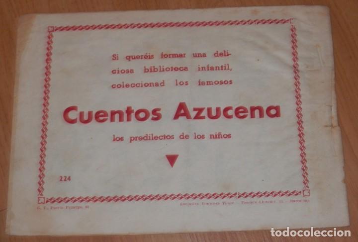 Tebeos: ANTIGUA REVISTA JUVENIL FEMENINA AZUCENA - TORAY - Foto 2 - 213338953
