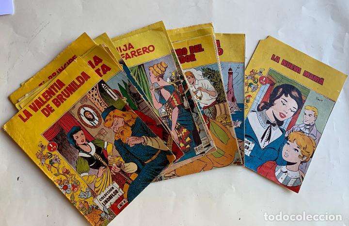 COLECCION LINDAFLOR . REVISTA PARA TODOS . TORAY , BARCELONA . COMIC ORIGINAL . 14 NUMEROS . (Tebeos y Comics - Toray - Otros)