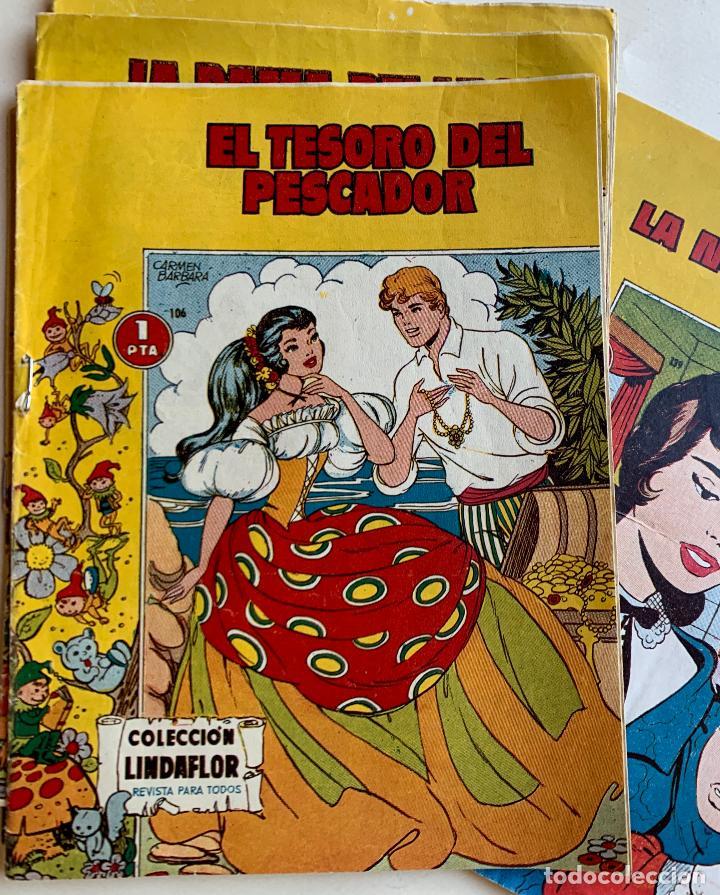Tebeos: COLECCION LINDAFLOR . REVISTA PARA TODOS . TORAY , BARCELONA . COMIC ORIGINAL . 14 NUMEROS . - Foto 2 - 213417168