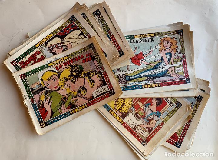 GRACIELA . REVISTA PARA TODOS . TORAY , BARCELONA . COMIC ORIGINAL . 34 NUMEROS . (Tebeos y Comics - Toray - Graciela)