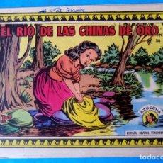 Tebeos: EL RIO DE LAS CHINAS DE ORO - COLECCIÓN AZUCENA Nº 286 - EDICIONES TORAY (FOTO). Lote 213428362