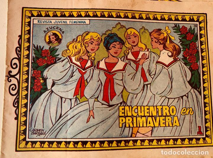 Tebeos: AZUCENA . TORAY . REVISTA JUVENIL FEMENINA (11) .EXTRAORDINARIOS (14) .COLECCION (171) TOTAL 197 . - Foto 3 - 213484995
