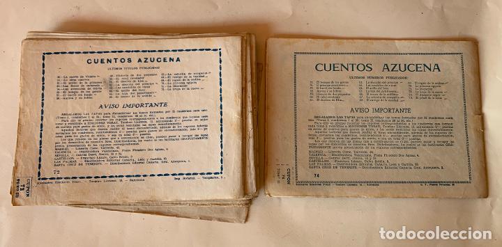 Tebeos: AZUCENA . TORAY . REVISTA JUVENIL FEMENINA (11) .EXTRAORDINARIOS (14) .COLECCION (171) TOTAL 197 . - Foto 17 - 213484995