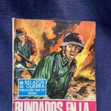Tebeos: COMIC RELATOS DE GUERRA ED. TORAY BARCELONA 1969 BLINDADOS EN LA TORMENTA 174 21X15. Lote 213559727