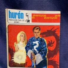 Tebeos: COMIC EL DRAGON NOVELA GRAFICA HURON ED. TORAY BARCELONA 1969 PUBLIC JOVENES 21X15. Lote 213560016