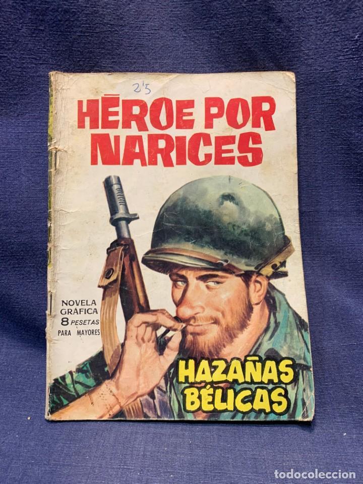 COMIC HAZAÑAS BELICAS ED. TORAY BARCELONA 1966 HEROE POR NARICES PUBLIC JOVENES 21X15 (Tebeos y Comics - Toray - Otros)