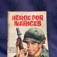 Tebeos: COMIC HAZAÑAS BELICAS ED. TORAY BARCELONA 1966 HEROE POR NARICES PUBLIC JOVENES 21X15. Lote 213560426