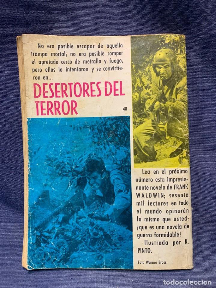 Tebeos: COMIC HAZAÑAS BELICAS ED. TORAY BARCELONA 1966 HEROE POR NARICES PUBLIC JOVENES 21X15 - Foto 3 - 213560426