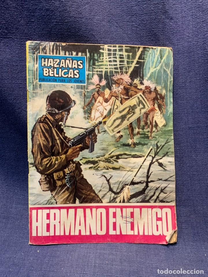 COMIC HAZAÑAS BELICAS ED. TORAY BARCELONA 1969 HERMANO ENEMIGO PUBLIC JOVENES 21X15 (Tebeos y Comics - Toray - Otros)