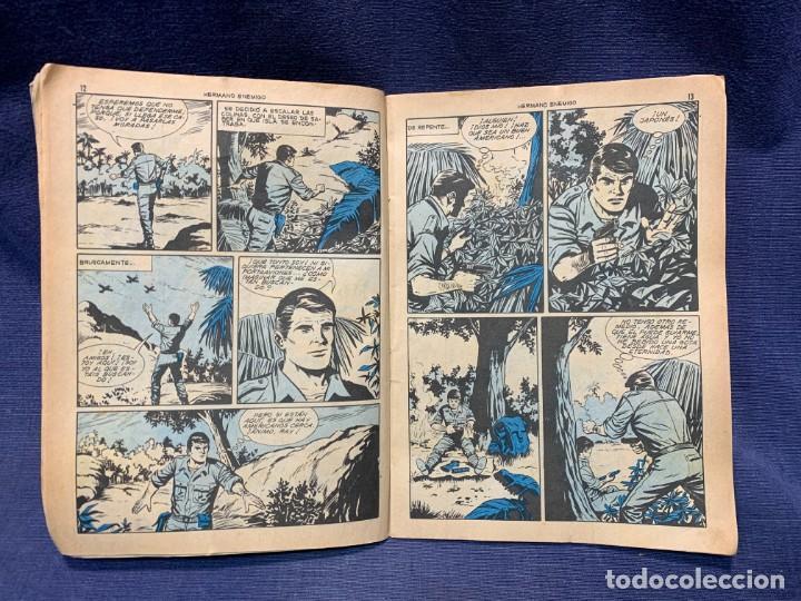 Tebeos: COMIC HAZAÑAS BELICAS ED. TORAY BARCELONA 1969 HERMANO ENEMIGO PUBLIC JOVENES 21X15 - Foto 3 - 213560548