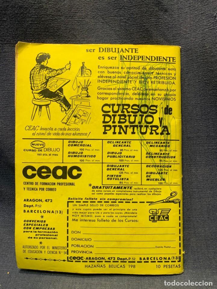 Tebeos: COMIC HAZAÑAS BELICAS ED. TORAY BARCELONA 1969 HERMANO ENEMIGO PUBLIC JOVENES 21X15 - Foto 6 - 213560548