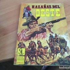 Tebeos: HAZAÑAS DEL OESTE TOMO RETAPADO Nº 3 , INCLUYE Nº 9, 10, 11 Y 12 (COIB121). Lote 213688227