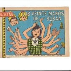 Tebeos: * AZUCENA Nº 988 * EDICIONES TORAY, S. A. 1967 BARCELONA *. Lote 213698512