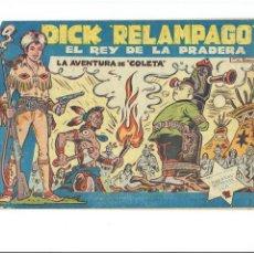 Tebeos: * DICK RELAMPAGO Nº 16 * EDICIONES TORAY 1961 * ORIGINAL *. Lote 213738451
