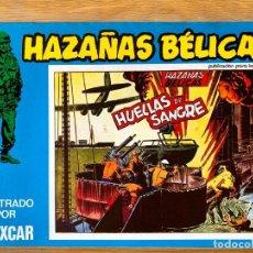 Livros de Banda Desenhada: HAZAÑAS BELICAS - HUELLAS DE SANGRE - BOIXCAR NUMERO 105. Lote 213804361