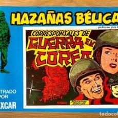 Livros de Banda Desenhada: HAZAÑAS BELICAS - CORRESPONSALES DE GUERRA EN COREA - BOIXCAR NUMERO 106. Lote 213804430