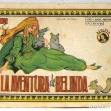 BDs: AZUCENA REVISTA JUVENIL FEMENINA - Nº 843 - LA AVENTURA DE BELINDA. Lote 213995342