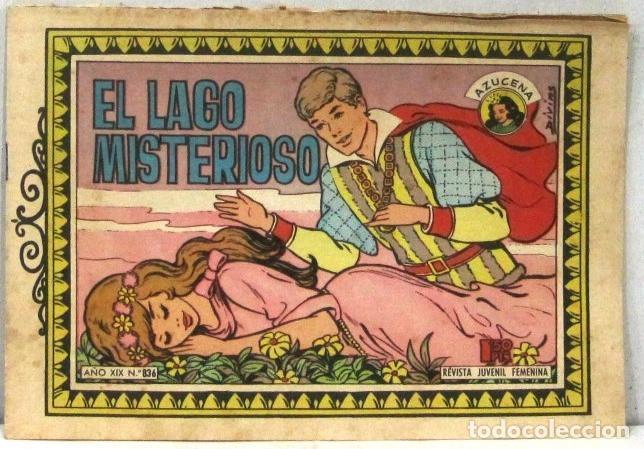 AZUCENA REVISTA JUVENIL FEMENINA - Nº 836 - EL LAGO MISTERIOSO (Tebeos y Comics - Toray - Azucena)