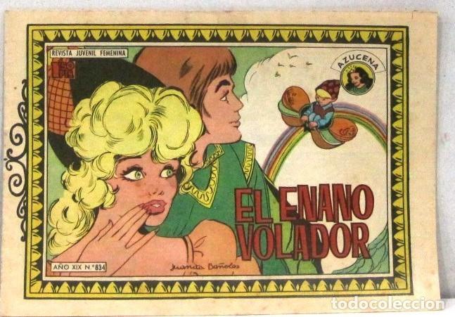 AZUCENA REVISTA JUVENIL FEMENINA - Nº 834 - EL ENANO VOLADOR (Tebeos y Comics - Toray - Azucena)