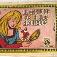 Tebeos: AZUCENA REVISTA JUVENIL FEMENINA - Nº 832 - EL CESTO DE LOS BELLOS RECUERDOS. Lote 213995940
