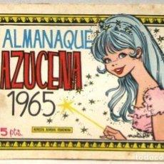 Tebeos: AZUCENA REVISTA JUVENIL FEMENINA - ALMANAQUE 1965. Lote 214167057