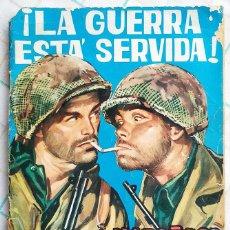 """Tebeos: HAZAÑAS BÉLICAS, Nº 59 1963 """"LA GUERRA ESTÁ SERVIDA"""". Lote 214178612"""