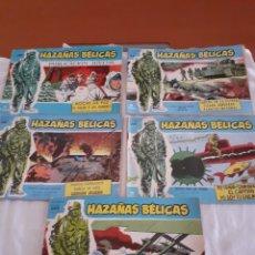 Tebeos: TORAY HAZAÑAS BELICAS N89,198,269,,277 Y 299. Lote 214290435