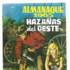 Tebeos: HAZAÑAS DEL OESTE, ALMANAQUE 1965, TORAY, MUY BUEN ESTADO. Lote 287953363