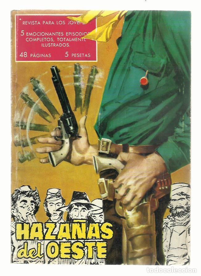 HAZAÑAS DEL OESTE NÚMERO 1, 1959, TORAY, BUEN ESTADO. COLECCIÓN A.T. (Tebeos y Comics - Toray - Hazañas del Oeste)