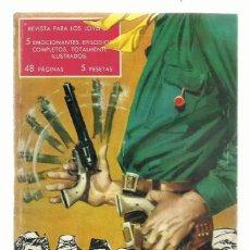 Tebeos: HAZAÑAS DEL OESTE NÚMERO 1, 1959, TORAY, BUEN ESTADO. COLECCIÓN A.T.. Lote 214451537