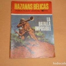 Tebeos: HAZAÑAS BÉLICAS Nº 225 LA BATALLA IMPOSIBLE. Lote 215130070