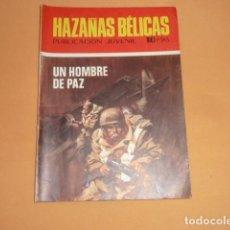 Tebeos: HAZAÑAS BÉLICAS Nº 232 UN HOMBRE DE PAZ. Lote 215130076