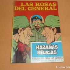 Tebeos: HAZAÑAS BÉLICAS Nº 274 LAS ROSAS DEL GENERAL. Lote 215130108