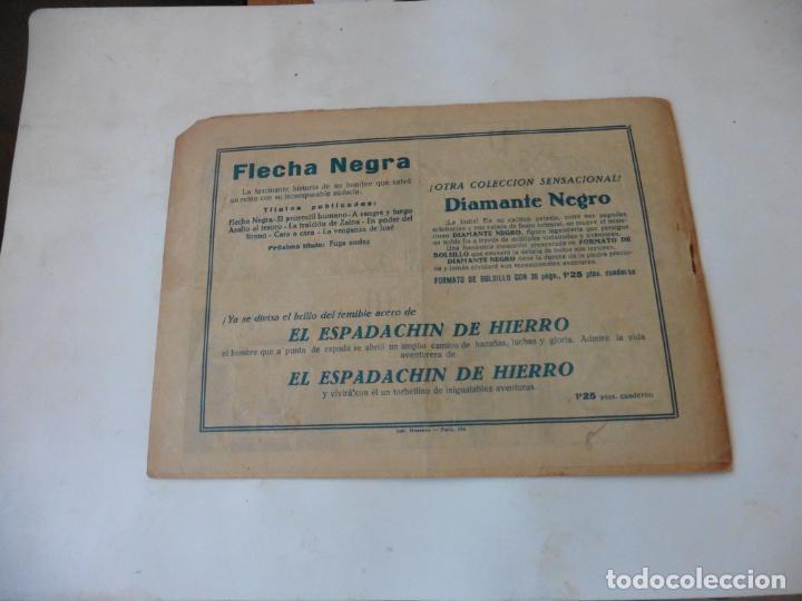 Tebeos: FLECHA NEGRA Nº 8 TORAY ORIGINAL - Foto 2 - 215140792