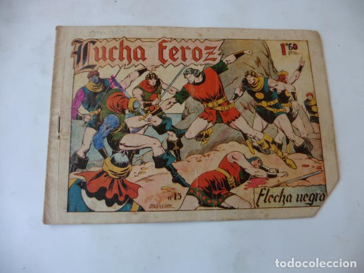 FLECHA NEGRA Nº 15 TORAY ORIGINAL (Tebeos y Comics - Toray - Flecha Negra)