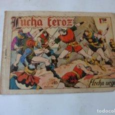 Tebeos: FLECHA NEGRA Nº 15 TORAY ORIGINAL. Lote 215141016
