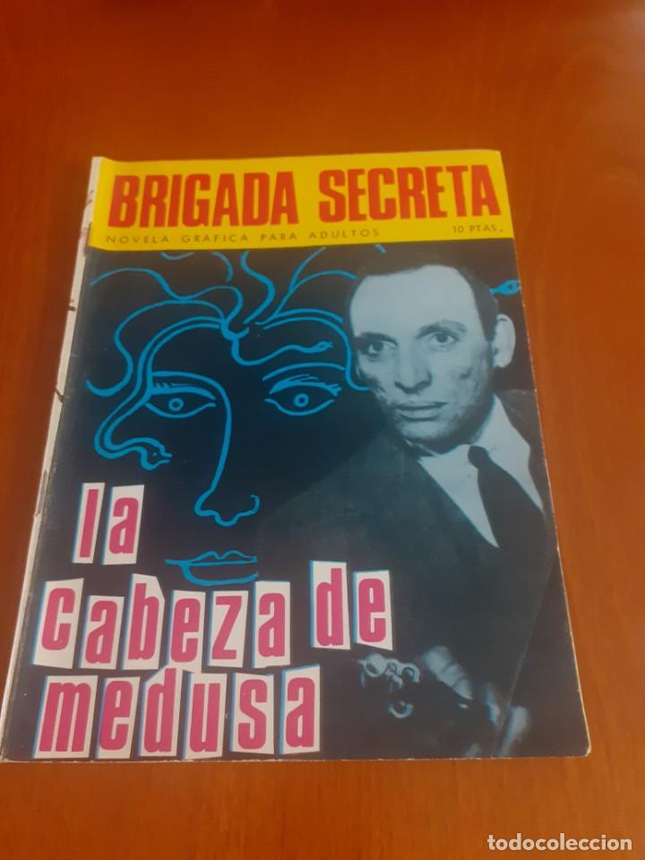 BRIGADA SECRETA DE TORAY Nº 82.LA CABEZA DE LA MEDUSA (Tebeos y Comics - Toray - Otros)