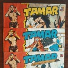 Tebeos: TAMAR (LOTE 3 NÚMEROS). Lote 215363397