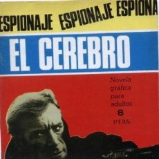 Tebeos: ESPIONAJE - Nº 48 -EL CEREBRO- GRAN JOSÉ GUAL-1966-BUENO- MUY DIFÍCIL-LEAN-3522. Lote 215474687