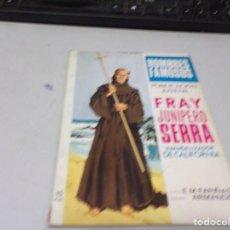 Tebeos: HOMBRES FAMOSOS - FRAY JUNÍPERO SERRA. Lote 215618796