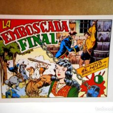 BDs: EL HIJO DEL DIABLO DE LOS MARES Nº 10 : LA EMBOSCADA FINAL ( FACSÍMIL ). Lote 215631862