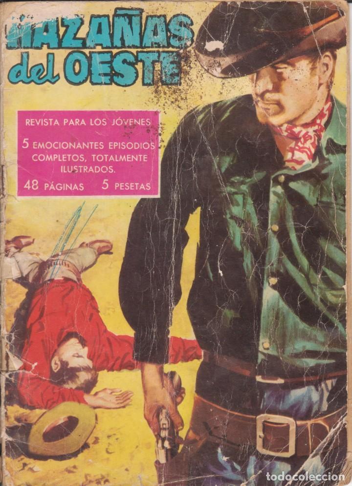 """CÓMIC """"HAZAÑAS DEL OESTE"""" Nº 7 ED. TORAY (FORMATO CUARTILLA DIN-A5) 48PGS: (Tebeos y Comics - Toray - Hazañas del Oeste)"""