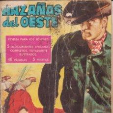 """Tebeos: CÓMIC """"HAZAÑAS DEL OESTE"""" Nº 7 ED. TORAY (FORMATO CUARTILLA DIN-A5) 48PGS:. Lote 215818025"""