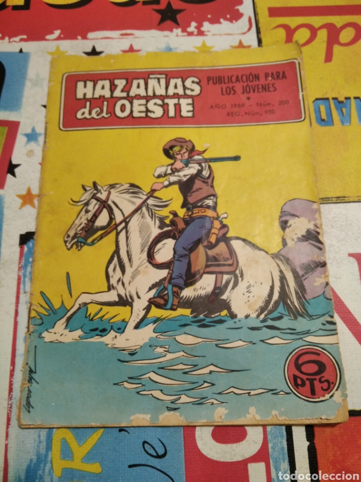 HAZAÑAS DEL OESTE N200 (Tebeos y Comics - Toray - Hazañas del Oeste)