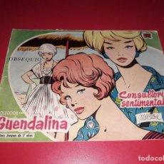 Tebeos: COLECCIÓN GUENDALINA Nº 1 TORAY 1959 CONTRAPORTADA GREGORY PECK. Lote 216372302