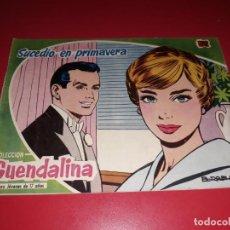 Tebeos: COLECCIÓN GUENDALINA Nº 3 TORAY 1959 CONTRAPORTADA JAMES DEAN. Lote 216372698