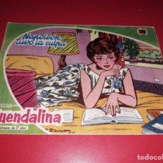 Tebeos: COLECCIÓN GUENDALINA Nº 4 TORAY 1959 CONTRAPORTADA MARLON BRANDO. Lote 216372843