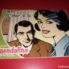 Tebeos: COLECCIÓN GUENDALINA Nº 5 TORAY 1959 CONTRAPORTADA KIRK DOUGLAS. Lote 216373005