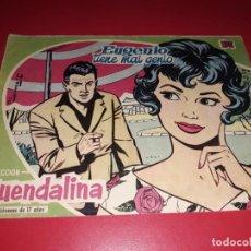 Tebeos: COLECCIÓN GUENDALINA Nº 6 TORAY 1959 CONTRAPORTADA YUL BRYNNER. Lote 216373147