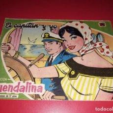 Tebeos: COLECCIÓN GUENDALINA Nº 14 TORAY 1959 CONTRAPORTADA TYRONE POWER. Lote 216374878